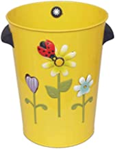 JJZXD Decorative Farmhouse Trash Can Lid for Bathroom Kids Room Girls Bedroom Garbage Cans for Kitchen Office Recycling Bi...