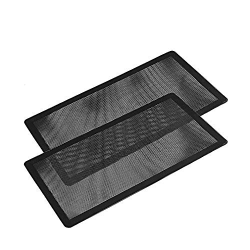 140mm x 2 Magnetic Frame Dust Filter, Computer Dust Filter and 140mm x 2 Fan Filter Set of 2