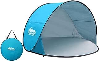WEISSHORN Beach Tent Shelter Shade Pop Up Beach Tent Sun Shelter Shade