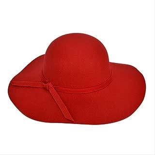 Aisoway Jazz Casquette Plaid Fedora Chapeaux Panama R/étro Large Brim Caps avec D/écor Leopard pour Hommes Femme