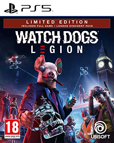 Watch Dogs Legion [Bonus uncut Edition] inkl. Golden King-Paket (Deutsche Verpackung)