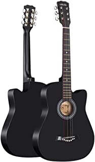 Acoustic Guitar, Beginner Classical Guitar 38 Inch Student Practice Rock Performance Outdoor Portable Beautiful Sound Qual...