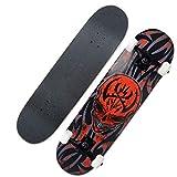 ZAIHW Skateboard - 31 X 8 Zoll Komplettes PRO Skateboard - Double...
