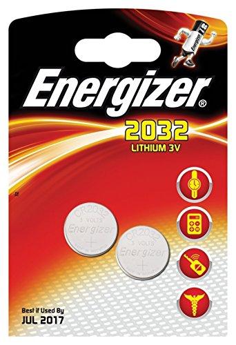 ENERGIZER - 628747 PILES AU LITHIUM CR2032–LOT DE 2