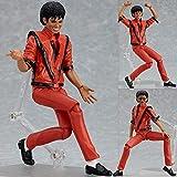 GaFedpu 14cm Michael Jackson Figma 096 MJ Thriller Collection BJD Figura de acción Modelo Juguetes