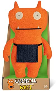 "GUND UglyDoll 10th Anniversary Wage 9"" Plush Doll (Orange with Black Accents)"