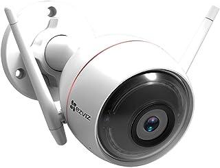 EZVIZ C3W Wifi خارجي 1080p HD كاميرا مراقبة ضوء وصفارة IP66 مقاومة للطقس رؤية ليلية 2.4 جيجا واي فاي/سلكي ثنائي الاتجاه وع...