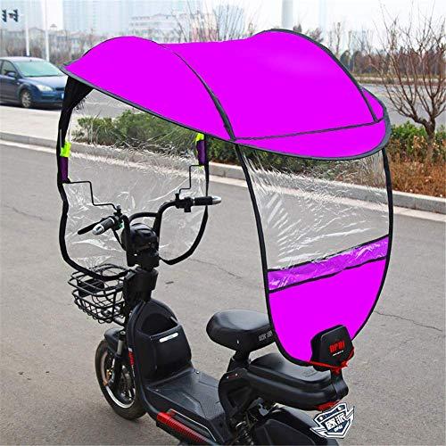 Parapluie Pliable pour Moteur de Moto général Mobilité Housse de Pluie pour Pare-Soleil étanche (sans rétroviseur), D