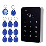 (1) 3 Ways To Open the Door: RFID card, password, RFID card+password (2) Storage capacity: 1000 user (3) Package Including: 1 keypad+ 10 EM Keyfobs+ 1 EM-ID Crystal Tag (4) Come with Manuals. Very easy to Program (5) Package is good. Never Broken!