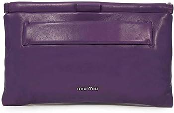 Miu Miu Nappa Leather Clutch