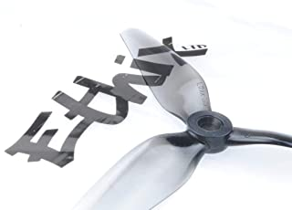 10 Pairs Ethix S5 Light Grey (10CW+10CCW)-Poly Carbonate Tri-Blade 3 Blade Propellers Props for FPV Racing