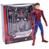 DEERO Marvel Avengers Infinity Guerra Iron Spider Statua Spiderman PVC Action Figure da Collezione Model Toy Superhero Bambola (G MAF047 Box)