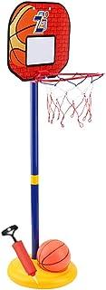 Kimanli Kids Toy Set, Child's Sporting Goods Adjustable Indoor Basketball Rack Basketball Combination Basketball Boys Girls Gift