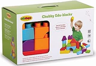 Edushape Chubby Edu-blocks, 36 Piece