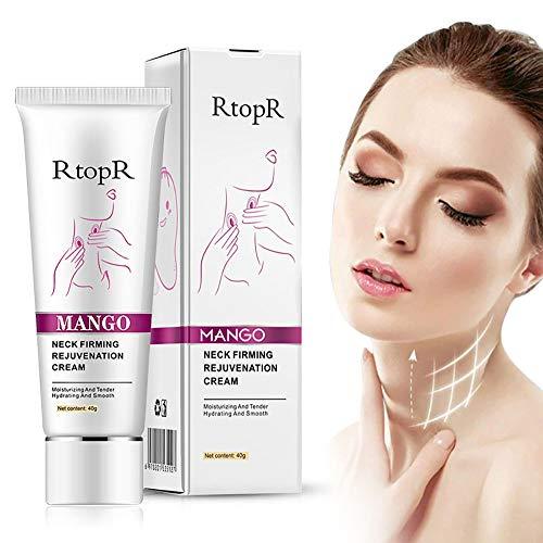 Neck Firming Cream, for Neck & Décolleté, Erase Crepe & Double Chin,Tightening Sagging Skin