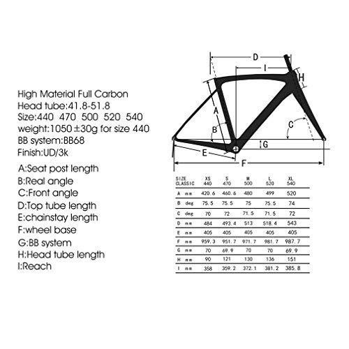 SAVADECK Carbon Rennrad, Herd 6.0 T800 Kohlefaser 700C Rennrad Shimano 105 R7000 Groupset 22 Geschwindigkeit Kohlenstoff Radsatz Sattelstütze Gabel Ultra-Licht Fahrrad (Rot Weiß, 44cm) - 3