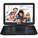 "NAVISKAUTO 16.5"" Portable DVD Player with 14 Inch 270° Swivel Screen Inbuilt 7"