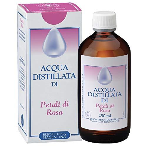 Erboristeria Magentina - Acqua Distillata di Petali di Rosa 250ml azione rinfrescante e tonificante