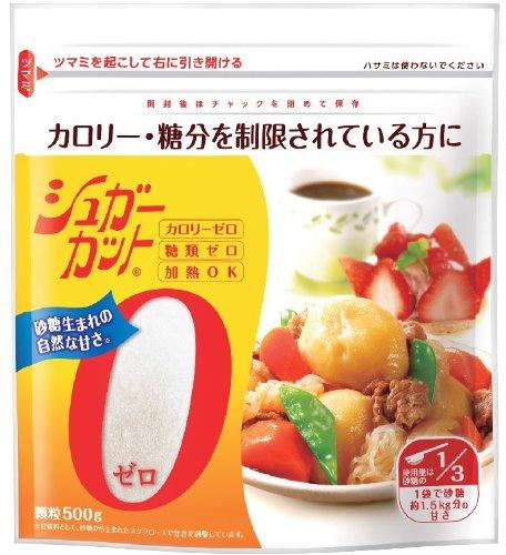 浅田飴 シュガーカット ゼロ顆粒500G 1袋