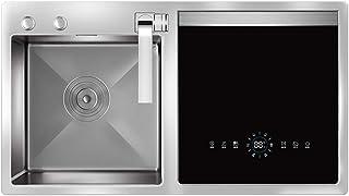 Lavavajillas Lavavajillas portátil incorporado en el programa de esterilización y secado de la capa 5large lavavajillas fregadero lavavajillas 1900W Doble Alta Temperatura kyman