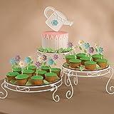 Wilton Weißes Verschnörkeltes Torten- und Dessert-Ständer-Set, Hochzeitstorten-Ständer - 4