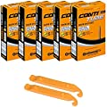 Continental Bicycle Tubes Race 28 700x20-25 S60 Presta Valve 60mm Bike Tube Super Value Bundle (Pack of 5 Conti tubes & 2 Conti tire lever)