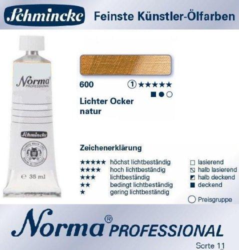 CREATIVE Schmincke Norma Professional, 35ml, Lichter Ocker Natur