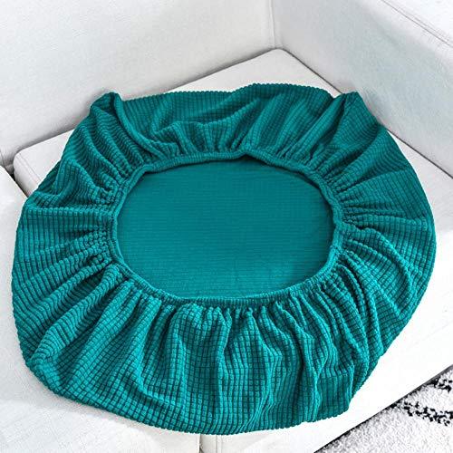 Funda de sofá elástica Jacquard,Funda de cojín para asiento de sofá, fundas de sofá elásticas para sala de estar, fundas para sillas, mascotas, niños, protector de muebles, Azure_Length 100-125cm