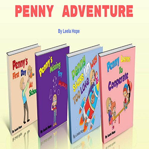 Penny Adventure Boxed Set cover art