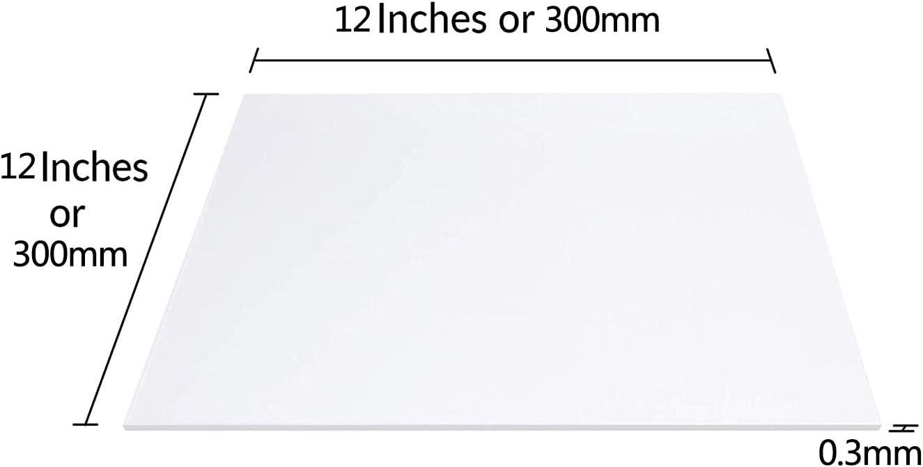 3 Pi/èces Appareils,200x200x0.3mm SQINAA T/ôle dacier Inoxydable 300X300x0.3Mm Calibre 11 304 SS Convient pour Ustensiles De Cuisine Bricolage D/écoration Art De La Table