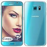 mtb More Energy® Funda TPU Doble (Frente y Trasera) para Samsung Galaxy S6 (SM-G920F, 5.1'') - Protección Completa de 360 Grados