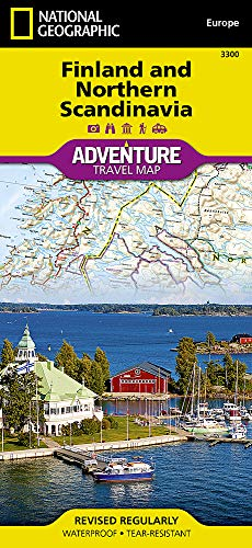 Finnland und Nord - Skandinavien: NATIONAL GEOGRAPHIC Adventure Maps