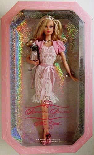 Piedra natal de octubre Barbie
