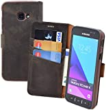 Suncase Book-Style Tasche kompatibel Samsung Galaxy Xcover