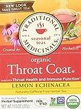 Cold & Flu-Lemon Echinacea Throat Traditional Medicinals 16 Bag