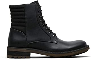 Beat It Lace-Up Boot, Black, Size 7.5