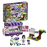 LEGO-Friends Lo Stand dell'Arte di Emma, Multicolore, 41332