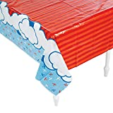 UP AND AWAY TABLECOVER - Party Supplies - 1 Piece