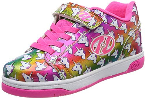 Heelys Dual Up X2, Zapatillas, Multicolor (Rainbow/Unicorn Rainbow/Unicorn), 34 EU