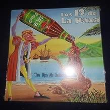 Los 12 de La Raza - Tus Ojos me Seducen - Salsa P'alante // Vinyl