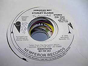 STANLEY CLARKE 45 RPM Jamaican Boy / SAME