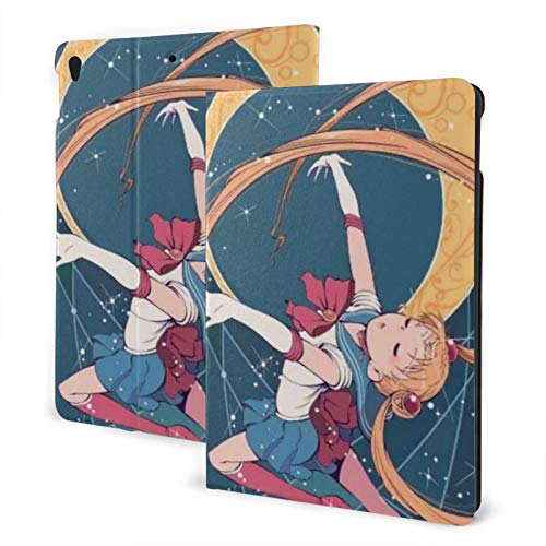 Cartoon Sailor Moon Case Fit iPad air 3 pro 10.5 Inch Case with Auto Sleep/Wake Ultra Slim Lightweight Stand Leather Cases