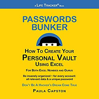 Passwords Bunker: How to Create Your Personal Vault Using Excel cover art