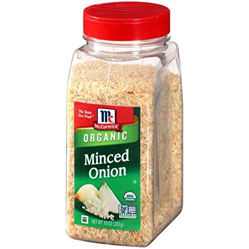 McCormick Organic Minced Onion 10.3 oz Now $6.35 (Was $10.87)