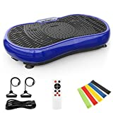 TECHMOO Fitness Vibration Power Plate Platform Whole Body Workout Exercise Machine Home Exercise...