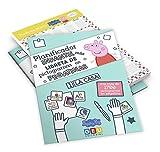 Pack Planificador Infantil Peppa Pig y Libreta con Pegatinas de Pictogramas   Organiza Tareas de Casa: Planificador Infantil Peppa Pig con Pictogramas ... Infantil Niños de 3 a 5 años con Pictogramas)
