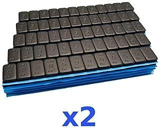 2 x 6 kg 12 kg svart premium urvalsvikt 12 x 5 g häftvikt 200 spår
