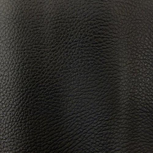 Craftine Simili Cuir d'ameublement uni Noir - par 50 cm