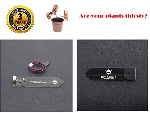 CQRobot Capacitive Analog Soil Moisture Sensor(Arduino Compatible)