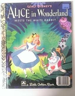 【不思議の国のアリス ALICE IN WONDERLAND】 洋書絵本(古本) リトル・ゴールデン・ブック ディズニー